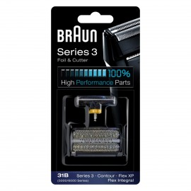 Folia + blok ostrzy Braun Combi Pack 31B black