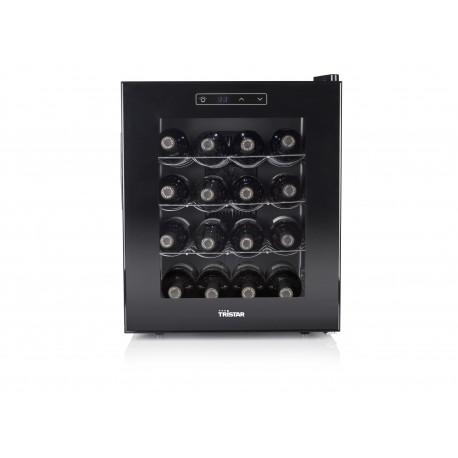 Chłodziarka na wino TRISTAR WR-7516 ( 420mm x 490mm x 520 mm - 48 l - Klasa A+ - czarny )