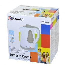 Czajnik elektryczny MSONIC MEN438WA ( 1.8l - biały szary )